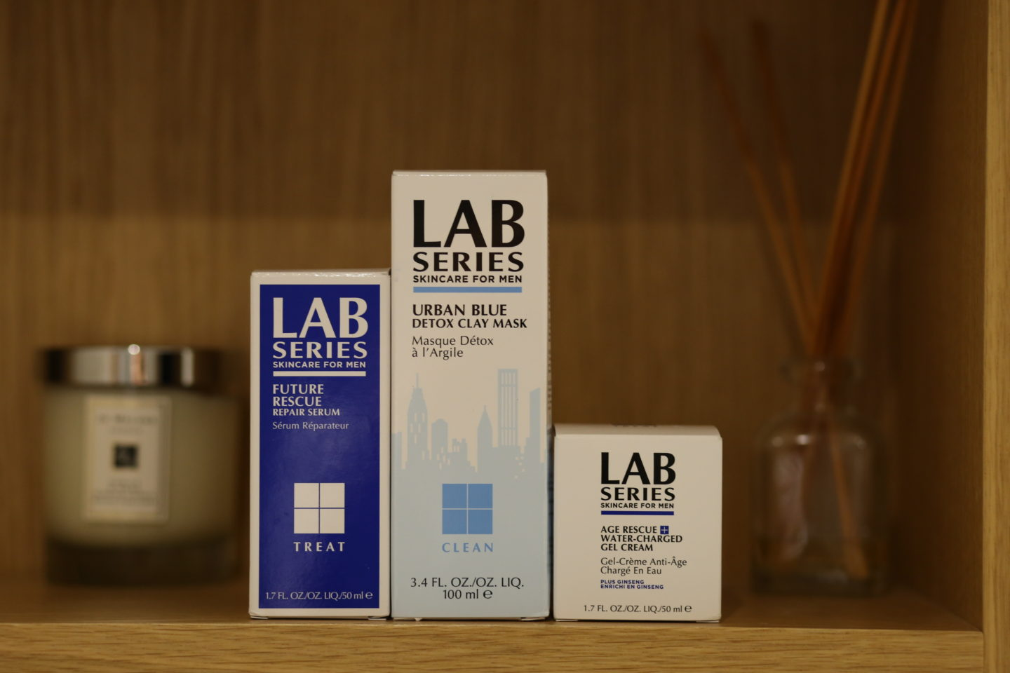 Mens Skincare Review LAB Series Boxes