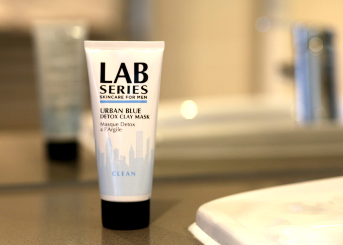 Mens Skincare Review LAB Series Mask