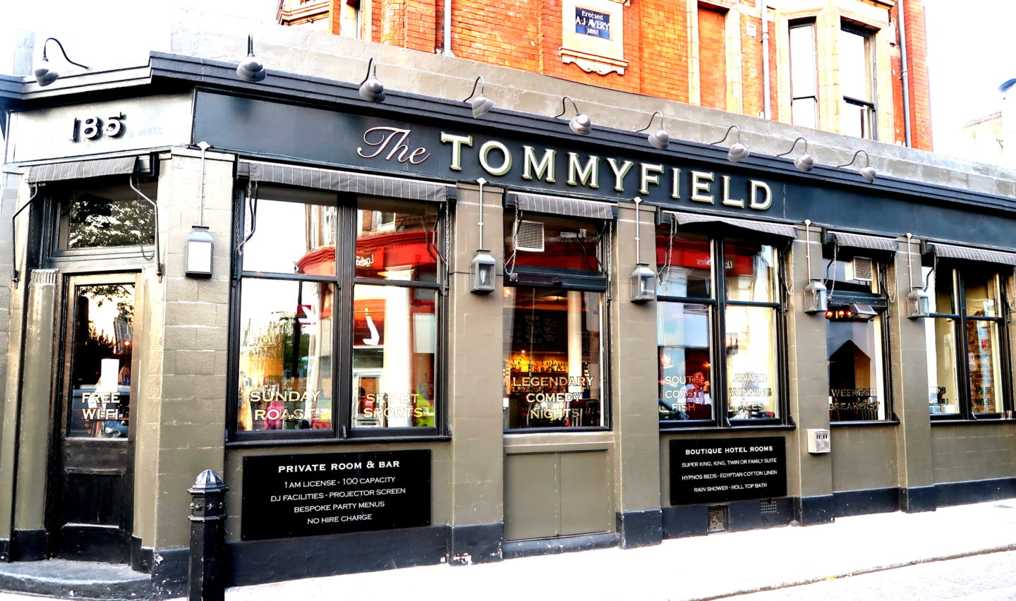Review of The Tommyfield exterior